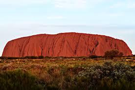 画像:オーストラリアのエアーズロック
