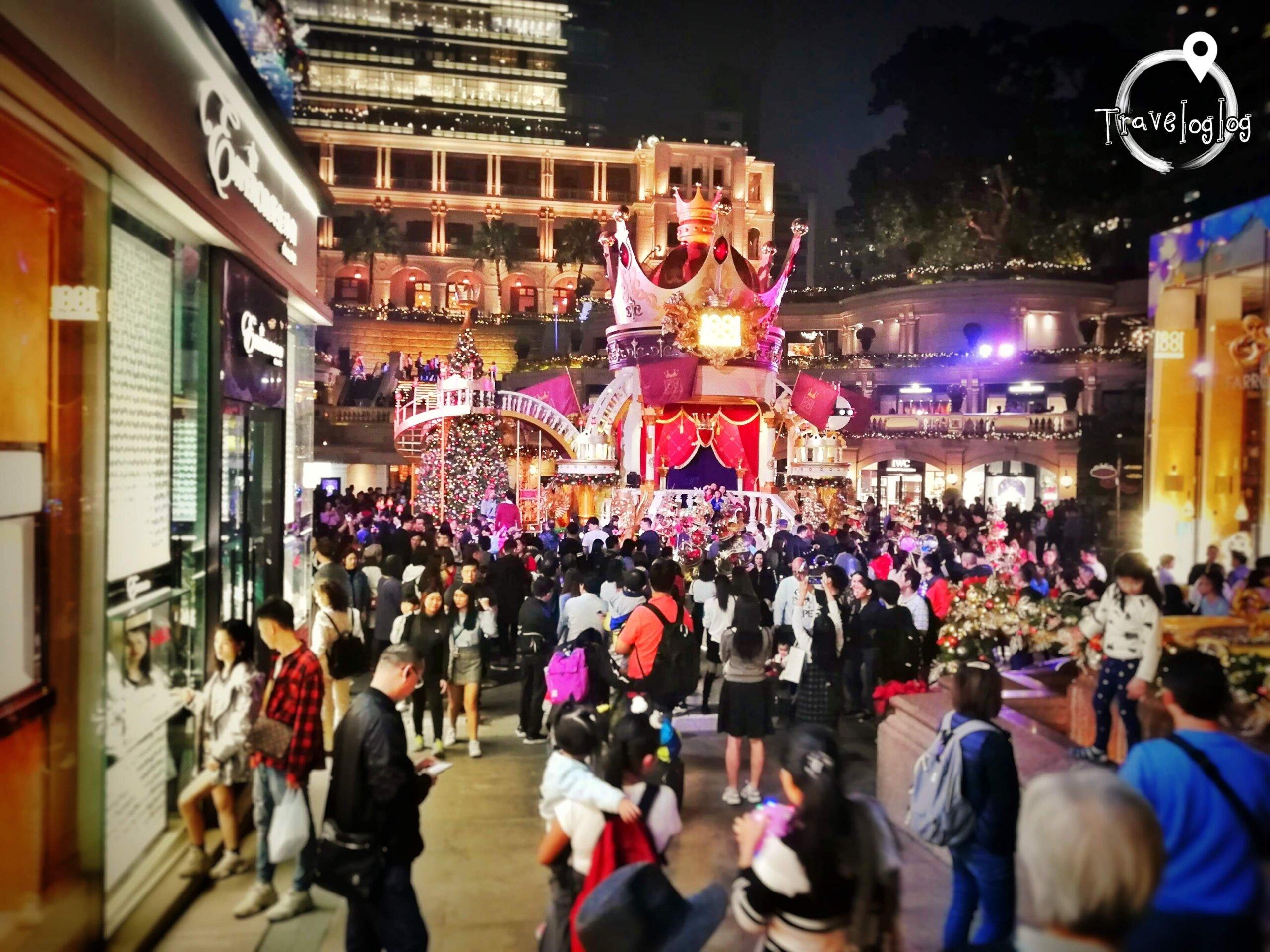 香港:新年のお祭りの様子