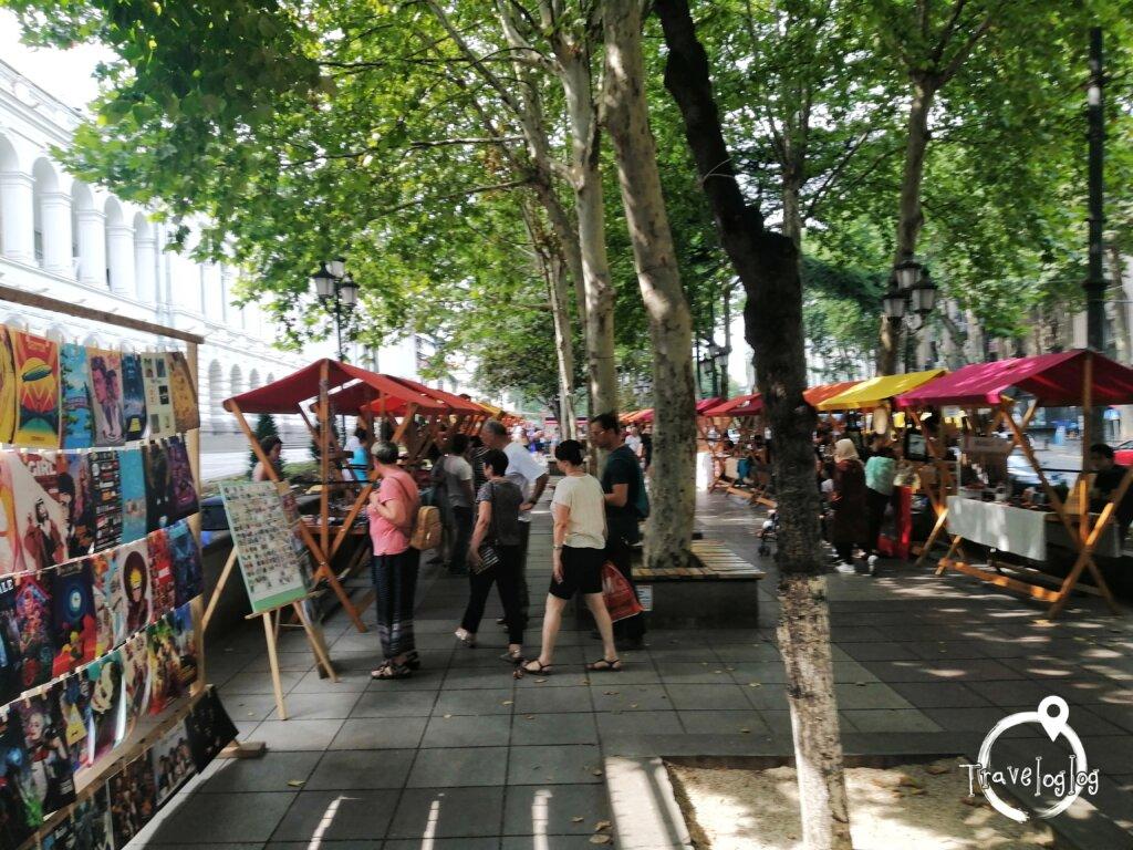 トビリシ:工芸品ストリート