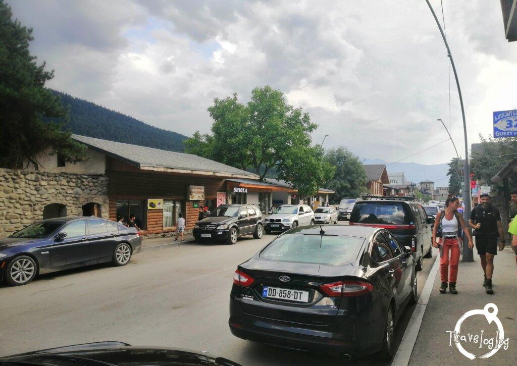 ジョージア:メスティアの町並み
