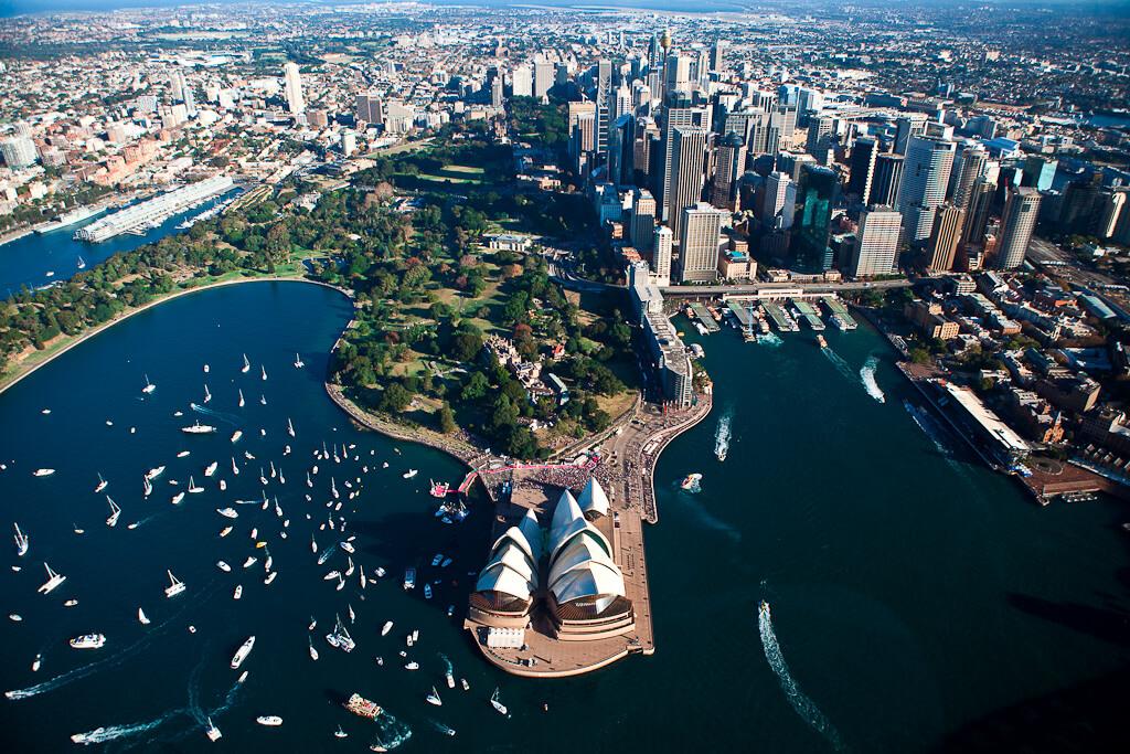 画像:オーストラリア・シドニー空撮